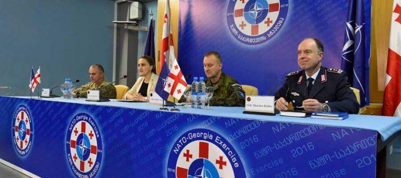 NATO Addestra La Georgia Su Non-Article 5 Crisis Response Operations