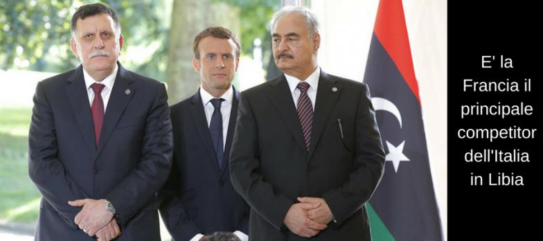 Libia-Serraj-Macron-Heftar