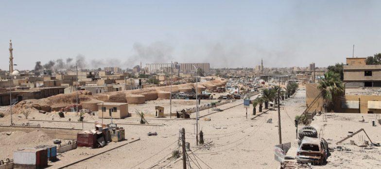 Siria, Isis A Raqqa Cerca Invano Di Riprendere Hisham Abdul Malek