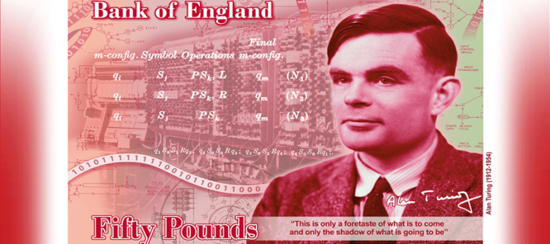 "UK, Alan Turing Will Be ""the Face"" Of The New £50 Note"