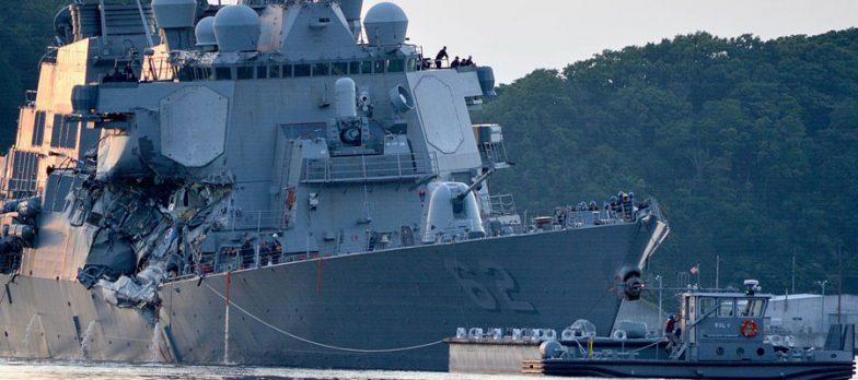 Usa, Si Affaccia Ipotesi Di Cyber Attacco Negli Incidenti Delle USS McCain-Fitzgerald