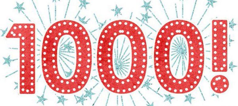 Difesa & Sicurezza Ha Superato 1.000 Articoli: Grazie!