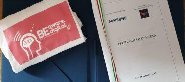 Protocollo D'intesa DIS E Samsung Italia Sulla Cultura Della Sicurezza