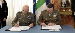 Esercito Italia Gerometta Mora Digitalizzazione Smaterializzazione Matricola Servizioinformatizzato Forzearmate Difesa Burocrazia Trasparenza C4 Cuse Segredifesa