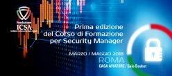 Icsa Italia Securitymanager Cyber Cybersecurity Sicurezzainformatica Torvergata Universita Formazione Leonardotricarico