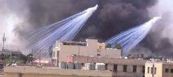 Iraq Bombe Fosforo Isis Isil Daesh Stato Islamico Mosul Zanjili Al Shifaa Coalizione Inherent Resolve