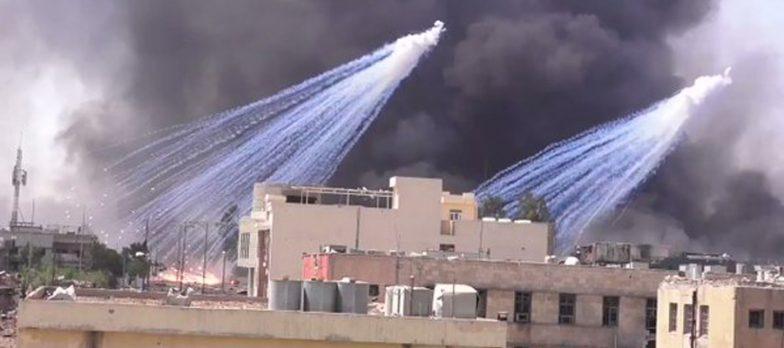 Iraq, Nuova Fake News Isis: Il Nemico Ha Usato Bombe Al Fosforo A Mosul