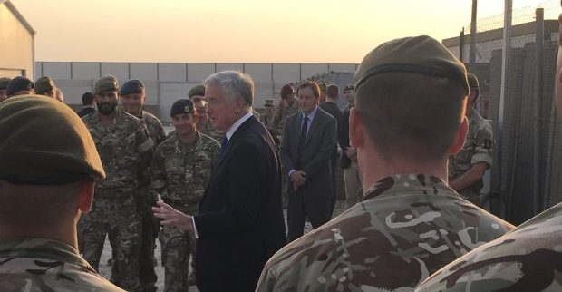 In Arrivo La Medaglia Alle Truppe UK Per La Campagna Contro Daesh