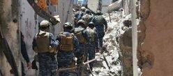 Iraq Mosul.isis Isil Daesh Stato Islamico Citta Vecchia Grande Moschea Polizia