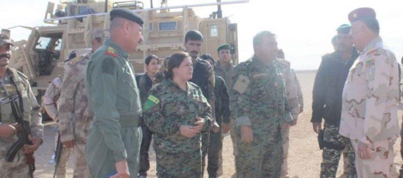 Iraq-Siria, La Sconfitta Di Isis è Celebrata Anche Da Un Incontro Al Confine