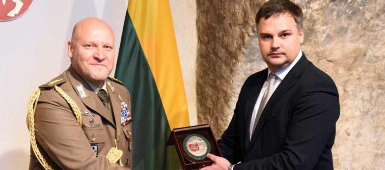 Lituania, Il Colonnello Di Bartolo Nuovo Addetto Militare Italiano
