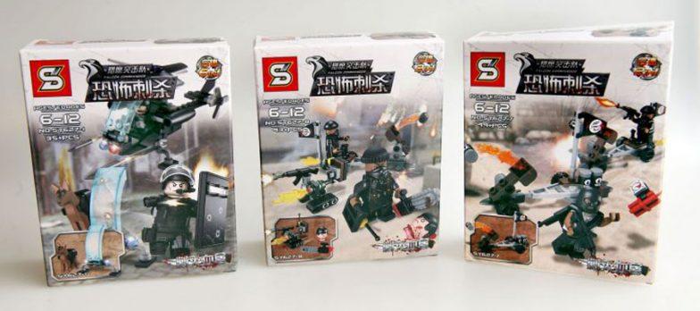 Falsi Giochi Lego Che Imitano Isis Scoperti A Singapore