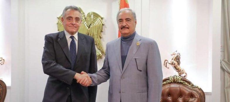 Libia, L'Italia Entra In Campo: Buccino Grimaldi Incontra Haftar