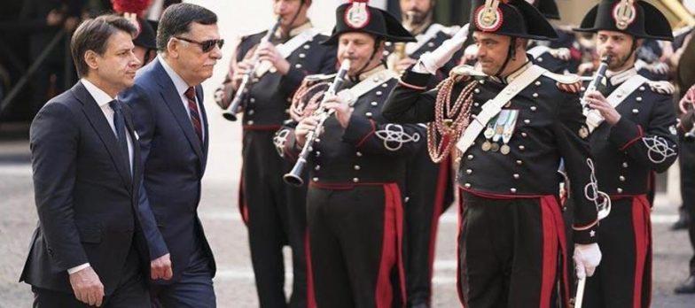 Libia, Italia E Francia Compatte Sulla Linea Sarraj Per Porre Fine Alla Crisi