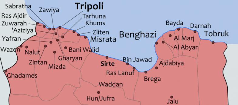 Libia, Le Forze Di Sarraj Sequestrano Un Convoglio Di Derrate Militare Per L'LNA