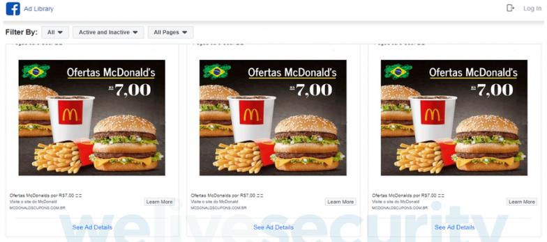 Cybercrime, Mispadu Spreads Via Fake Discount Coupons For McDonald's