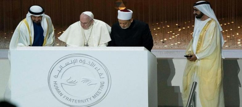 Pope Francis In Abu Dhabi: Advancing Security Through Religion