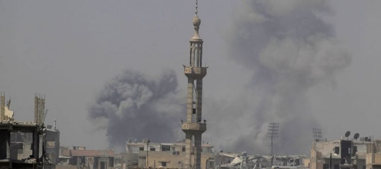 Syria, The Coalition Bombs Daesh At Deir Ezzor While Waiting For The Ground Offensive Of The SDF