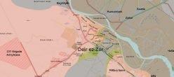 Siria Iraq Deir Ez Zor Isis Isil Daesh Stato Islamico Tiger Forces Saa Sdf Palmyra Aleppo Hama Zone Cuscinetto De Confliction PMU Baghdad Damasco Abu Kamal Rawa Annah Qaim Baaj Assad Abadi