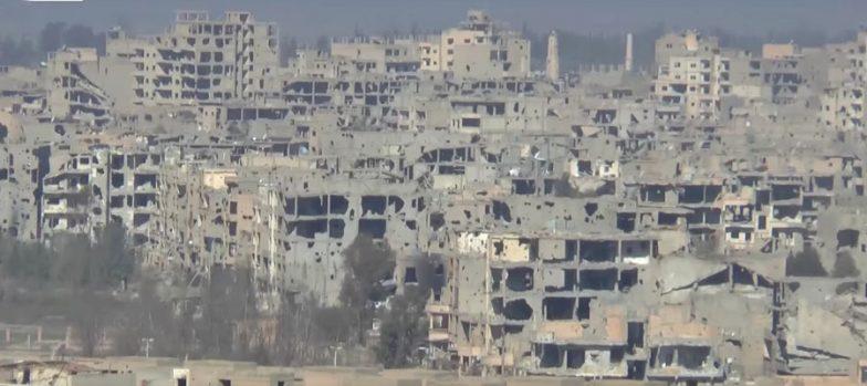 Siria, Battaglia Finale SAA-Isis Per Deir Ez-Zor. SDF Avanzano A Sud