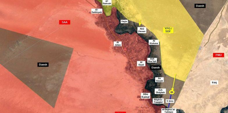 Siria, Daesh Non Rallenta Le SDF A Deir Ezzor. Sono A 3 Km Da Al-Baghouz