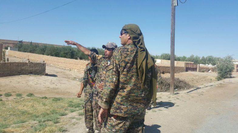 Siria, L'offensiva SDF Contro Isis Ad Hajin Comincia Con Lanci Di Leaflets