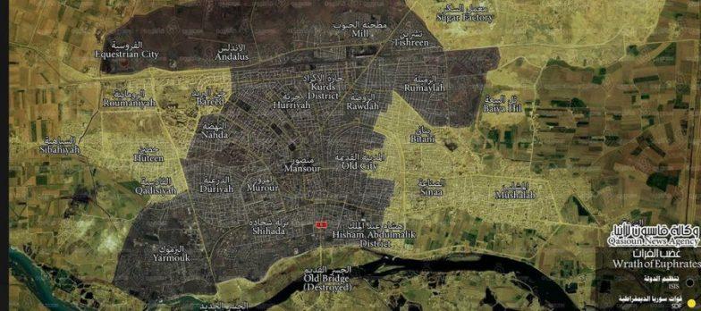 Siria, SDF A Raqqa Tolgono A Isis Buona Parte Al-Bared E Città Vecchia