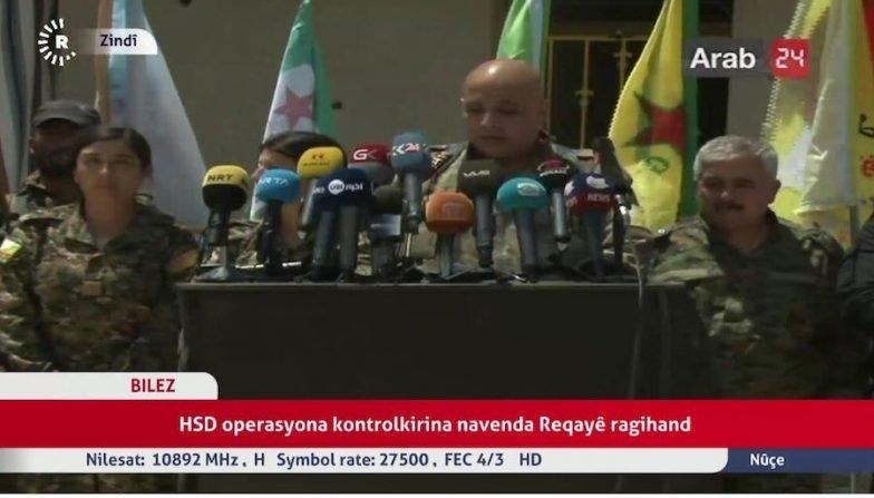 Siria, è Cominciata L'offensiva Finale SDF Anti-Isis A Raqqa