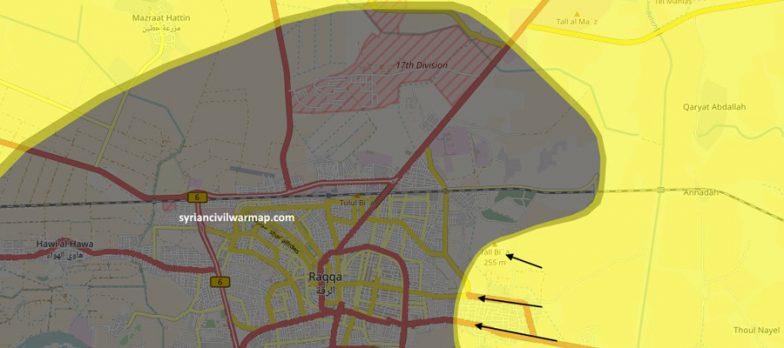 Siria, SDF Avanzano A Raqqa Da Est E Ovest. Isis Perde 3 Quartieri