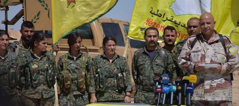 Siria, Anche Le SDF Dichiarano Guerra A Isis A Deir Ez-Zor