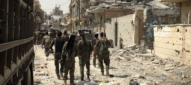 Syria, The SDF At Deir Ezzor Surround Isis At Dashisha And Attack Hajin