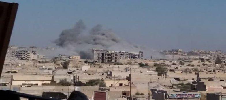 Siria, Continuano I Raid Aerei Su Isis A Deir Ez-Zor. Soprattutto A Sha'fah