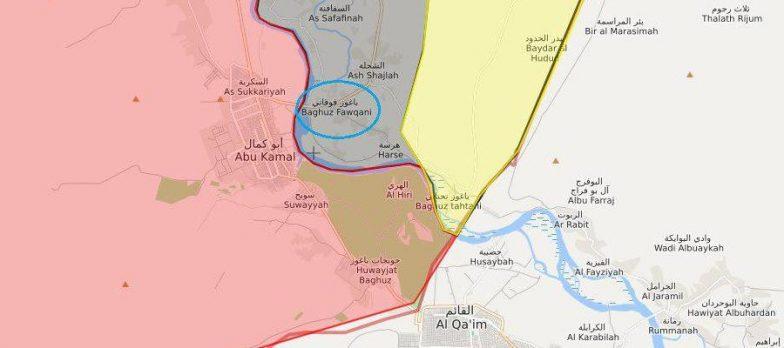 Syria, Pressing On Daesh At Deir Ezzor Starts Again. Raid On Baghuz Fawqani
