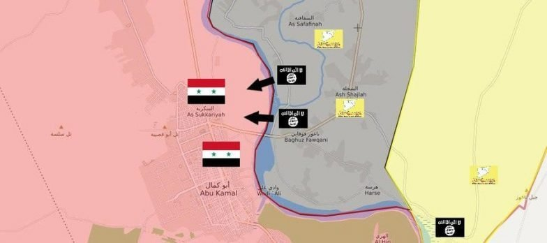Syria, Isis Tries To Escape From The SDF At Deir Ezzor Crossing The Euphrates