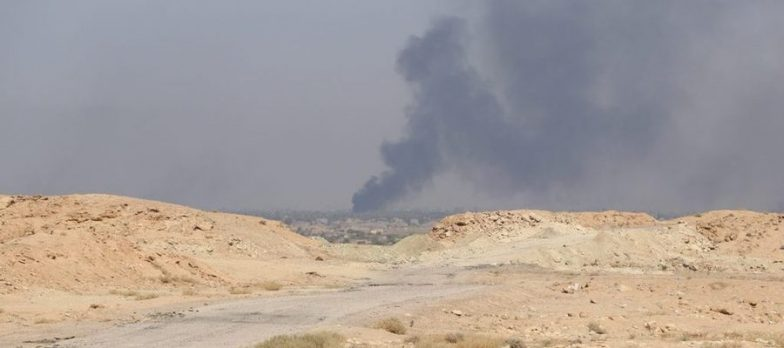Syria, The SDF Attack Isis In Hajin At The Market And 20th Street