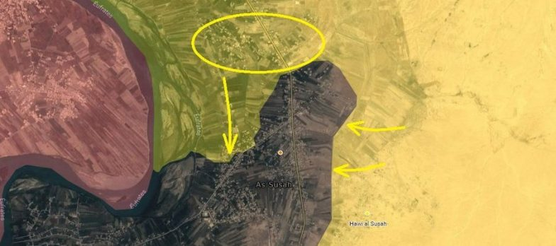 Syria, The SDF Maxi Offensive Against Isis In Susah Is In Full Swing