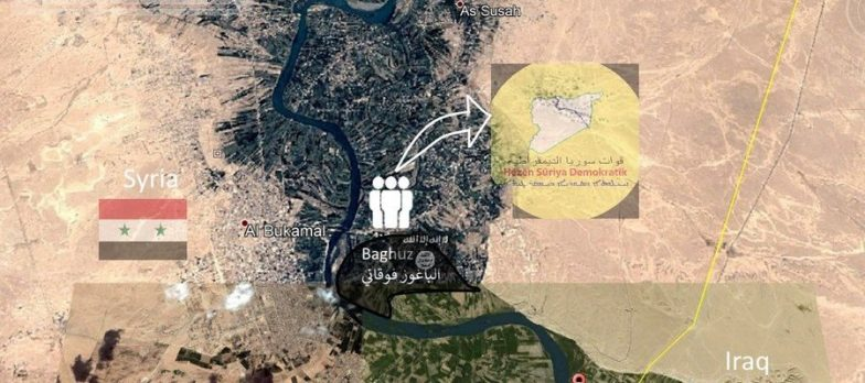 Syria, Isis In Deir Ezzor Is Relegated In An Area Of Just 2 Kilometers