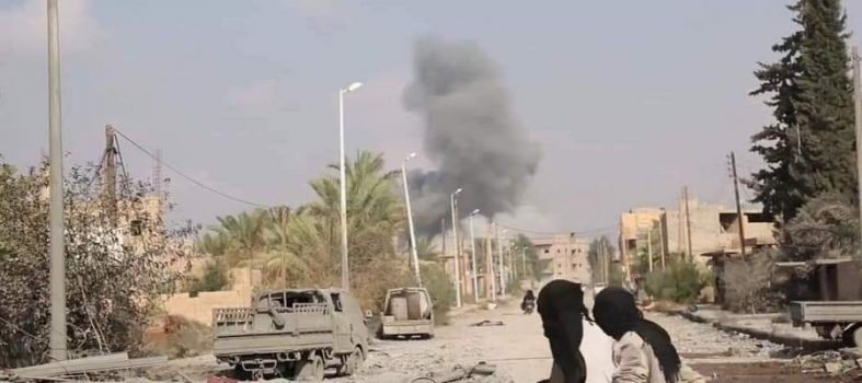 Siria, L'offensiva SDF Contro Isis A Deir Ezzor Riprende Con L'artiglieria