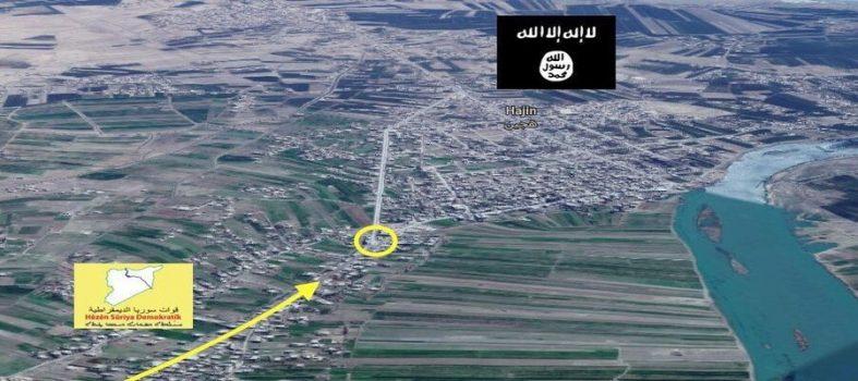 Siria, Isis Arretra Contro Le SDF Ad Hajin. Liberati Al-Hawamah, Mercato E Ospedale