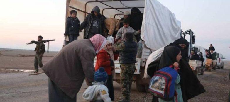 Syria, The SDF In Hajin Block An Isis Counterattack And Open A Humanitarian Corridor