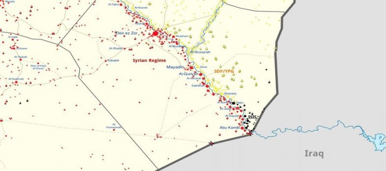 Siria, Le PMF Irachene Entrano A Deir Ezzor Per Eliminare Isis