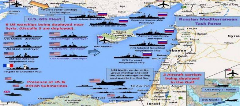 Siria, Si Preparano Il Conflitto Totale E La Terza Guerra Mondiale