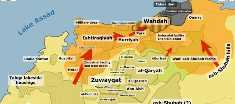 Siria, Isis Tenta Un Contrattacco A Sorpresa A Tabqa. SDF Lo Bloccano