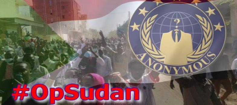 Sudan, Anonymous Declares War On The Military Junta