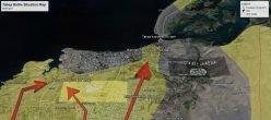 Tabqa Map Siria Raqqa Isis Daesh Isil Stato Islamico Sdf