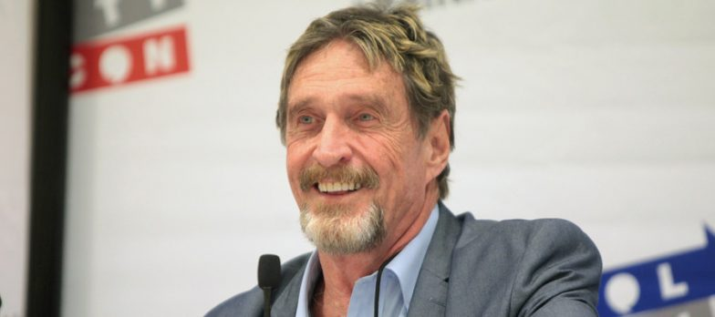 Usa, The Cryptocurrency Influencer John McAfee Will Run For The Presidential Elections In 2020