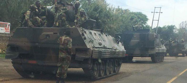 Sospetto Colpo Di Stato Nello Zimbabwe. Esercito Vs. Mugabe